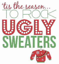 Ugly Christmas Sweater Logo 10